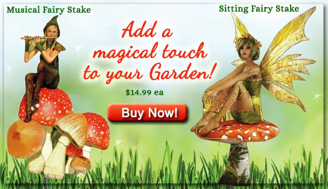 Sitting Fairy Stake