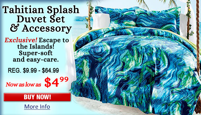 Tahitian Splash Bedding